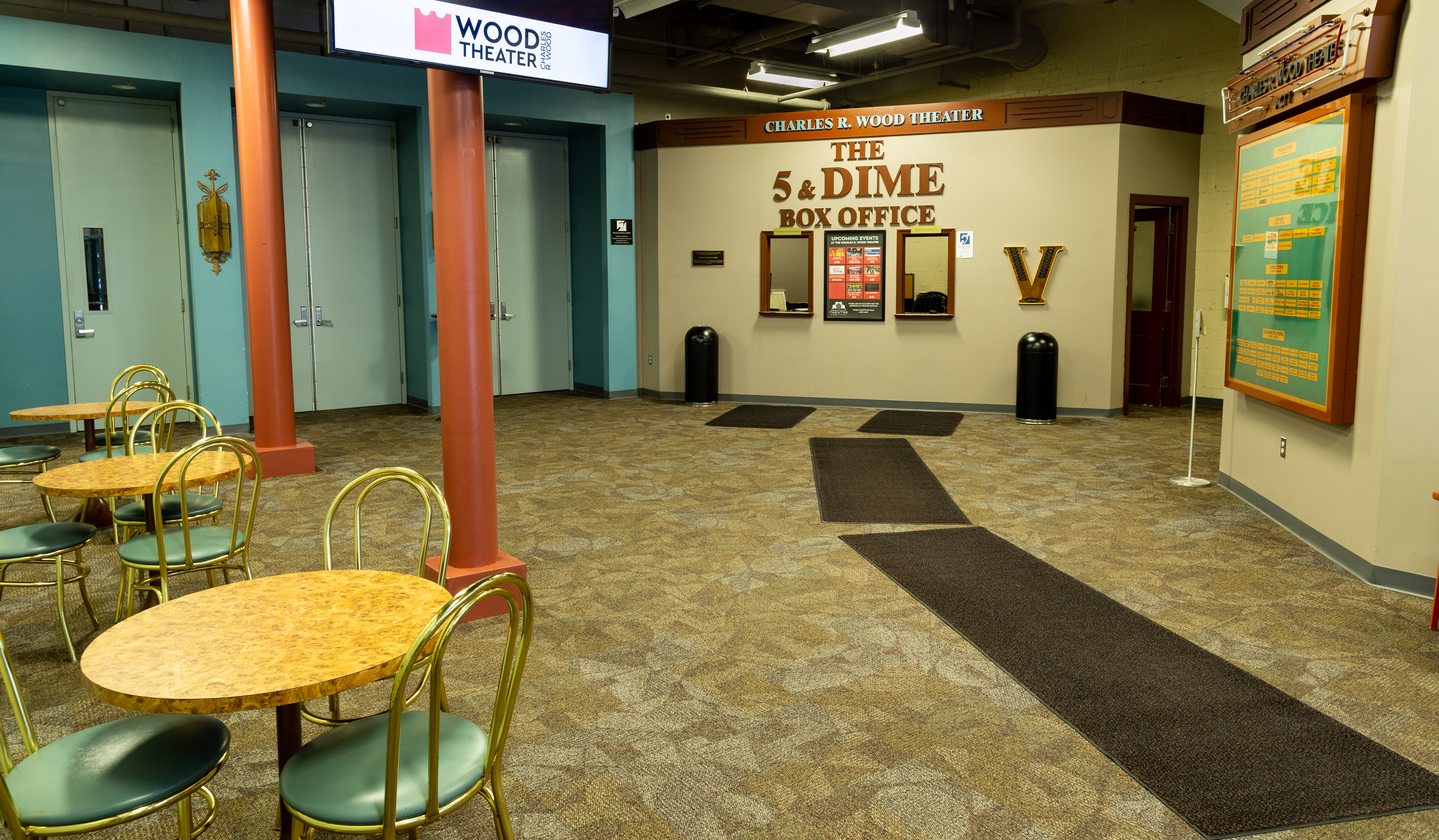 Wood Theater Outer Lobby